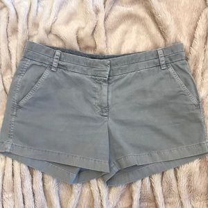 Great Grey Chino Shorts by J. Crew